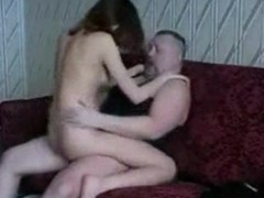 Horny bitch rides her wet pussy primarily this lasting flannel
