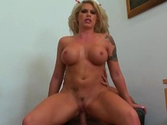 Brooke Haven bounces her pussy on this eternal cock