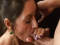 Busty prudish cougar pussy pounded