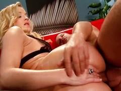 Anal sex blonde