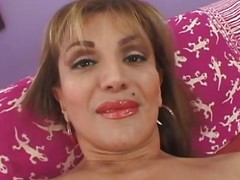 cougar spreads her pussy embouchure