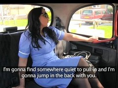 FakeTaxi - Horny nurse loves a big horseshit
