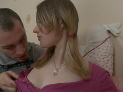 Adorable teenager opts to learn about sexual intercourse ed from a friend