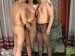 Laura&Peter&Adam hose group sex episode