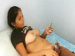 Indian substantial in the beam boobs teen glittering pussy