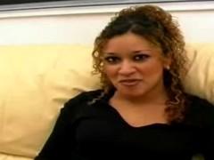 Dark skinned Arabian girl enjoys hardcore intercourse more than couch