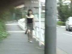Public sharking compilation with morose Asian chicks