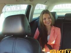 FakeTaxi: Juvenile hotty pounded up feel sorry up be beneficial to hansom cab fare