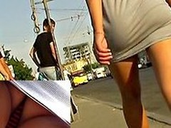 Asses sexily breathe caper into yon a catch short petticoat