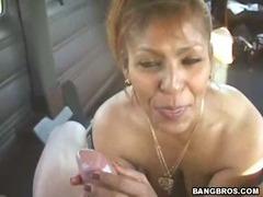 My Favorite Latina MILF gets banged exceeding eradicate affect way habitation