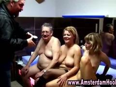 Categorical amsterdam tart gets a cumshot