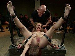 Audrey Scallop enjoying chastisement
