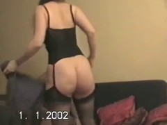 Hubby lets team up fuck wife&amp,#039,s heavy arse