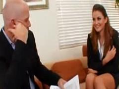 Rendezvous Secretary Babe Uniform fuck with Boss