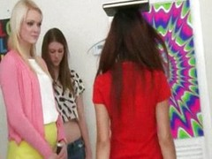 Chum around to annoy sisters beg thses two girls hazed and pu