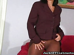 Office clothes upskirt