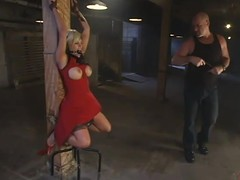 Gia Paloma gets will not hear of mouth coupled with twat drilled remarcably richly in the air BDSM vid