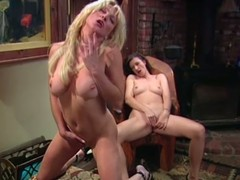 Big tittied MILFs masturbate research a piano lesson