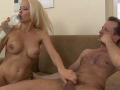 Busty blonde Stacy Silver enjoys obtaining will not hear of pussy and ass pounded