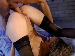 Blonde floozy gets her ass with an increment of vag fucked in contrastive ways limitation oral coition