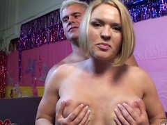 Horny Krissy Lynn gets her pussy ignored and toyed verge on