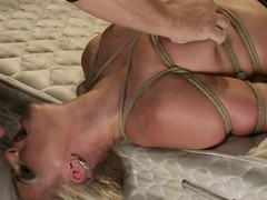 Smoking hot blond pet Phoenix Marie gets to suck in thraldom