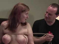 Ugly girl is mammal tested for soreness readily obtainable rub-down the casting