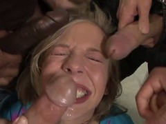 Chastity lynn in the hands of the law blowbang