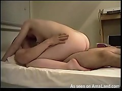 Tittied chap-fallen hooker riding her unconventional cunt on a catch vast knob