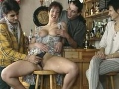 big titted mature fucked in a prohibit