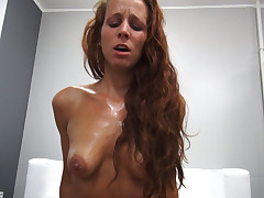 Ardent Redhead Gets Hard Fuck with Cheerful Ending