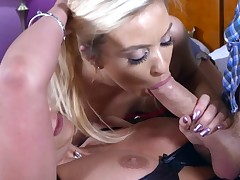 Kylie Nicole & Phoenix Marie & Danny D in Cum-Petitive Pricing - Brazzers